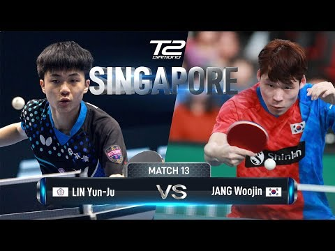 Lin Yun Ju Vs Jang Woojin | T2 Diamond 2019 Singapore (R16)