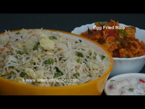 Egg fried rice restaurant style egg fried rice youtube ccuart Choice Image
