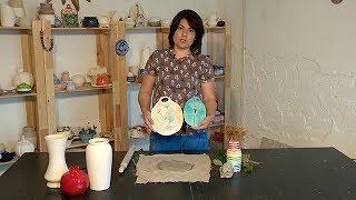 как сделать вазу из глины без гончарного круга