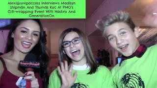 Madisyn Shipman And Thomas Kuc - Who Knows Each Other Better - Alexisjoyvipaccess Interview