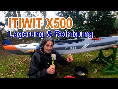 ITIWIT X500 Kajak - Lagerung und Pflege