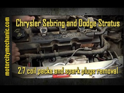 Chrysler Sebring and Dodge Stratus 27 coil packs and spark plugs