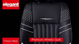Fresco Mojo Car Seat Covers | Designer Seat Covers for Car | Sporty Fabric Seat Cover