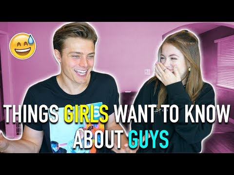Things Girls Want To Know About Guys | Ft Jill Cimorelli