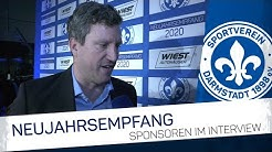 Darmstadt 98 | Neujahrsempfang: Sponsoren im Interview