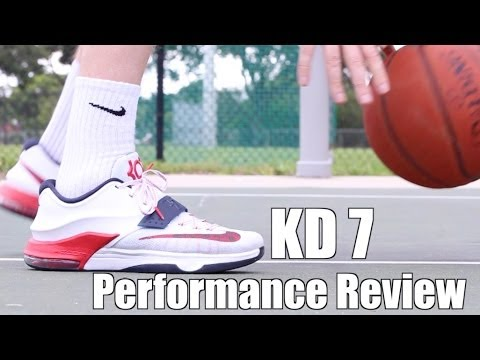 Nike KD 7 - FULL PERFORMANCE REVIEW! - YouTube 6deafe199