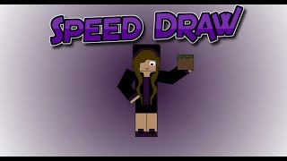 Minecraft Speed Draw of End_ergirl