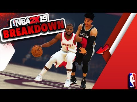 NBA 2K19 Gameplay Trailer - ShakeDown's BREAKDOWN