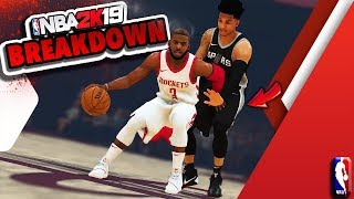 NBA 2K19 Gameplay Trailer - ShakeDown's BREAKDOWN