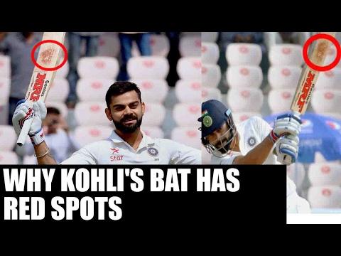Virat Kohli's bat sporting 'RED' mark shows his amazing performance : Sachin | Oneindia News