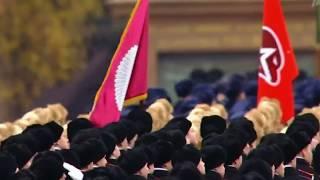 7 ноября 2017.  Парад в Москве.  November 7th, 2017. The Parade in Moscow.