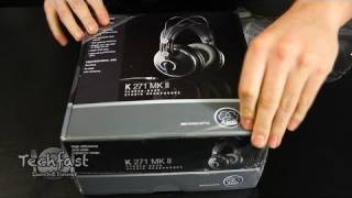 Unboxing: AKG K 271 MK II Studio Headphones