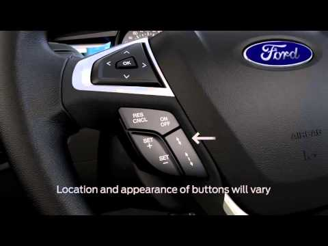 Adaptive cruise control│Ford How To Video - YouTube