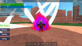 Doing the Rebirth on DBX in roblox