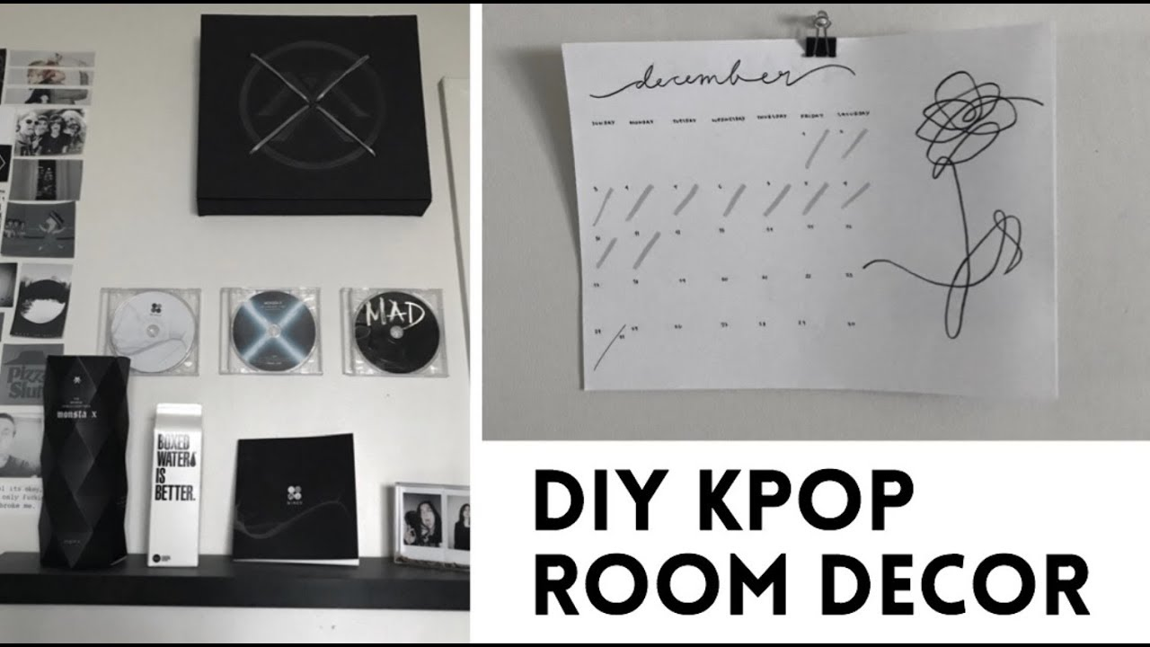 DIY Decora tu cuarto Kpop Ver 2 (BTS, Monsta X & Got7)