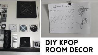 DIY Decora tu cuarto Kpop Ver 2 (BTS, Monsta X & Got7)