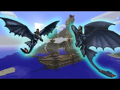 Minecraft How To Train Your Dragon To Troll