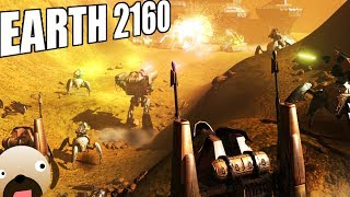 Earth 2160 Gameplay - Old School Real Time Strategy Game USC Robots
