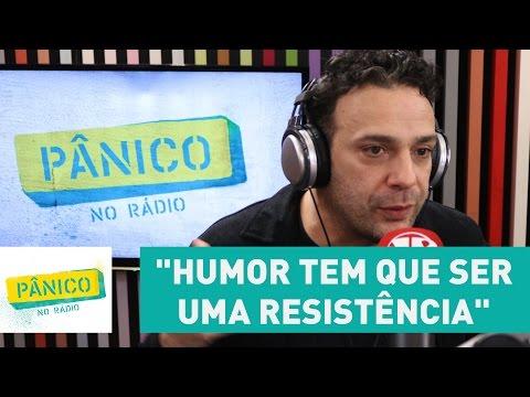 """""""Humor tem que ser uma resistência"""", diz Marcelo Médici sobre limites nas piadas"""