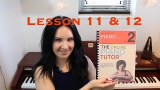 Learn the Piano | EASY | Beginners |  Lesson 11 & 12/40