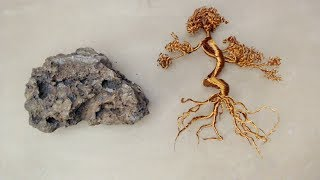 How to make Wire Tree on Rock