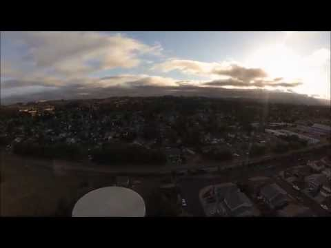 DJI Phantom 2 short Time-Lapse of the NORCAL Marine Layer!