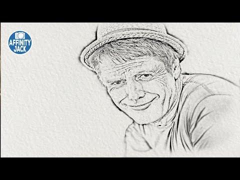 Affinity Photo - Sketch Effekt (English Subtitles)