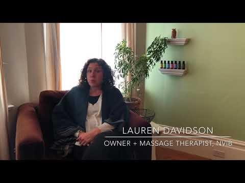 Meet Lauren Davidson - Owner & Massage Therapist