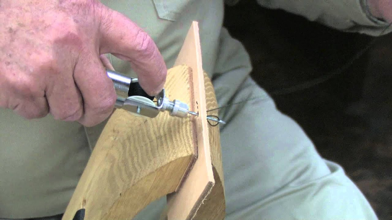 How To Use The Sewing Awl Kit On Leather
