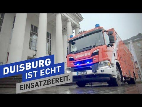 Neuer Einsatzleitwagen (ELW) der Feuerwehr Duisburg