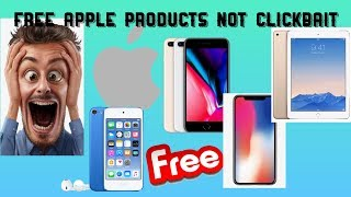 HOW TO GET FREE APPLE PRODUCTS! W/PROOF! NOT CLICKBAIT!!