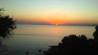Lever du soleil au camping de Cirucco Village - 28.07.2011