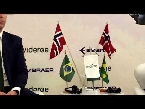 Embraer-Widerøe Joint Press Conference