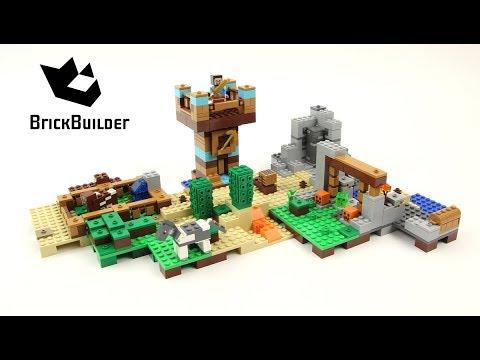 De Boîte La 0 Construction 21135 2 Lego Minecraft qUpVGSzM