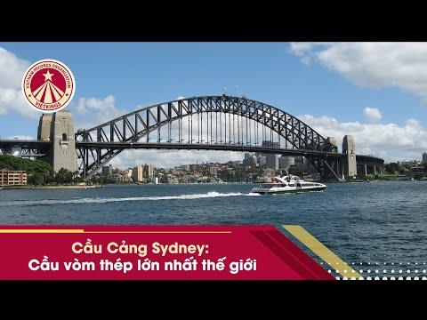 Bản Tin Kỷ Lục: cầu vòm thép lớn nhất thế giới Cầu Cảng Sydney