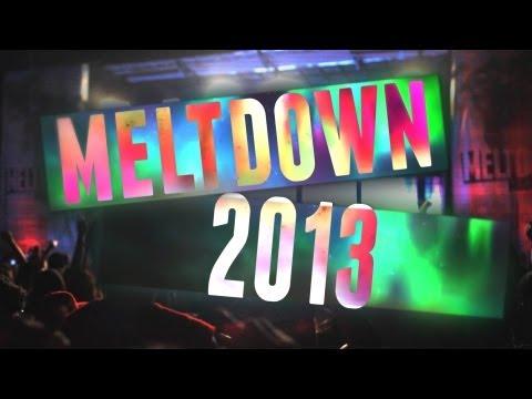 "Meltdown 2013  Fort Worth TX ""One Minute of Meltdown"" Ft. Justice, Flux Pavillion"