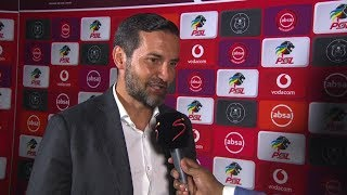 Absa Premiership | Orlando Pirates v Highlands Park | Post-match interview with Josef Zinnbauer