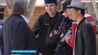 Александр Проханов снимает фильм о Дагестане  16.04.19 г