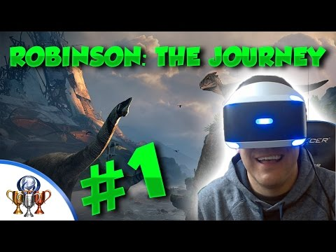 Robinson: The Journey - [PSVR] - Platinum Let's Play (PART 1) - From Home to the Farm Walkthrough