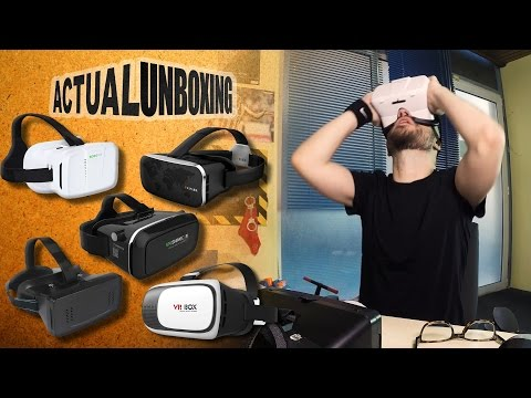 VR headsets - Actual Unboxing #03