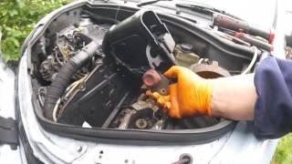 видео Renault symbol тросик газа