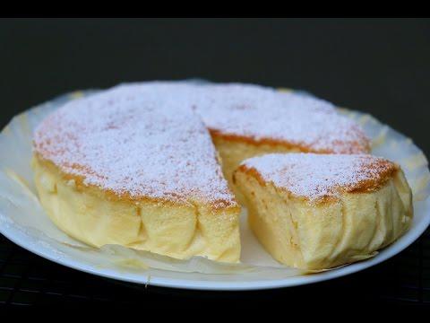 cheesecake-japonais-/-gâteau-magique-soufflé-chocolat-blanc