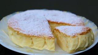 Cheesecake japonais / gâteau magique soufflé chocolat blanc