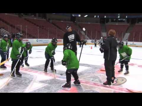 Anaheim Ducks Learn to Play Preseneted by Bauer Powered by Ryan Getzlaf and Corey Perry