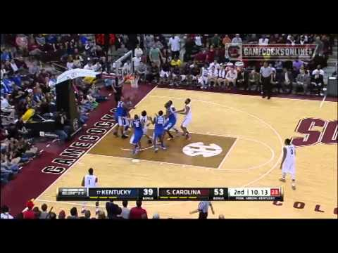 Highlights South Carolina Men S Basketball Defeats No 17 Kentucky 72 67