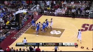 Highlights: South Carolina Men's Basketball Defeats No. 17 Kentucky, 72-67