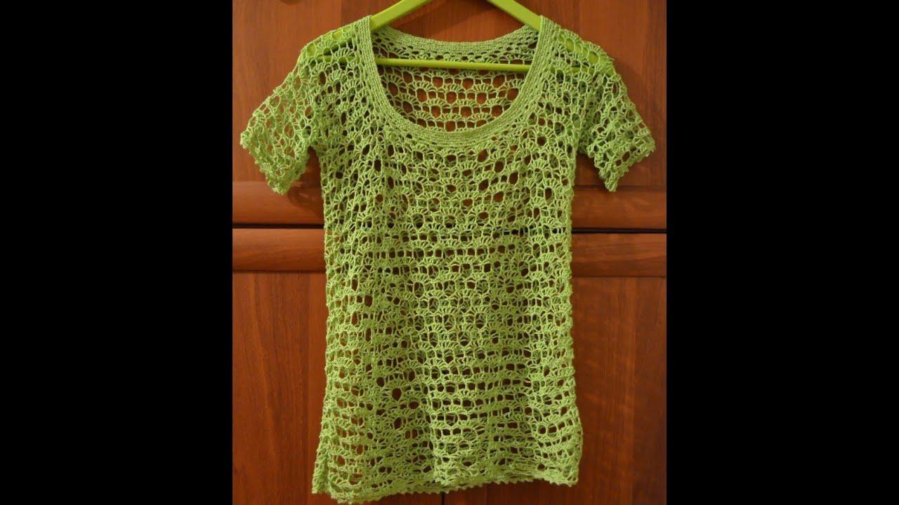 blusas tejidas a crochet para damas - YouTube