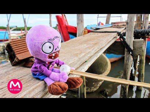 Plants vs Zombies Plush Toys - Zombie fishing | MOO Toy Story