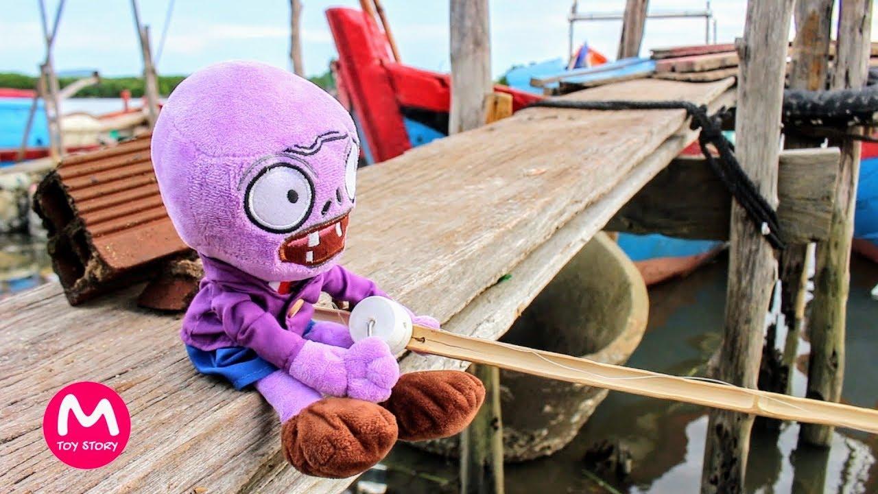 Plants vs Zombies Plush Toys - Zombie fishing | MOO Toy Story