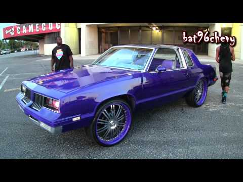 "Candy Purple Oldsmobile Cutlass on 24"" Asanti's Pt.1 - 1080p HD"